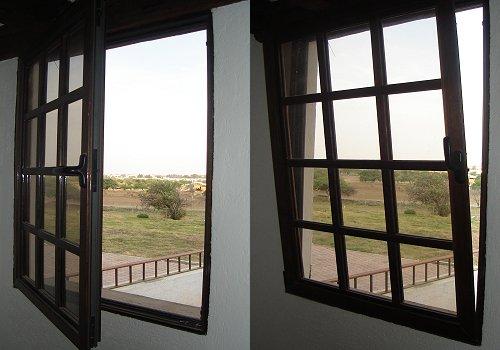 Puertas y Ventanas termoacu00fasticas de Madera y de Aluminio